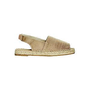 Levně Béžové sandály Vero Moda