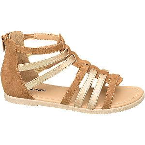 Levně Béžovo-hnědé sandály Graceland