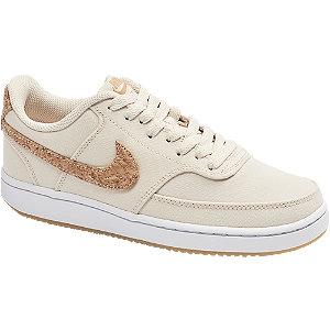 Levně Béžovo-hnědé tenisky Nike Court Vision