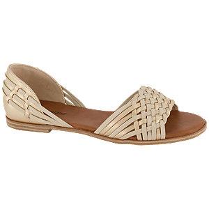 Levně Béžovo-zlaté sandály Graceland