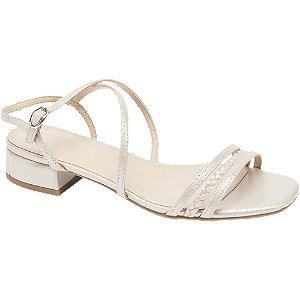 Levně Béžovorůžové sandály Graceland