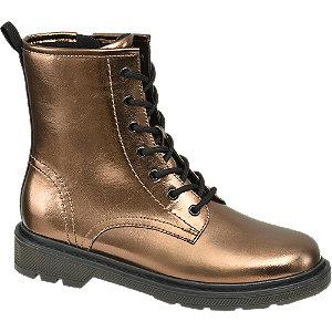 Levně Bronzová šněrovací obuv Catwalk
