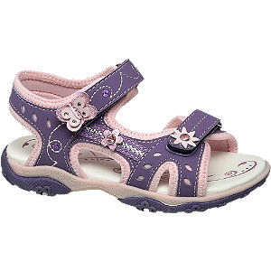 Levně Fialové sandálky Cupcake Couture