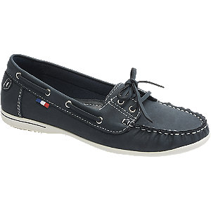 Donkerblauwe loafer veter Graceland maat 41