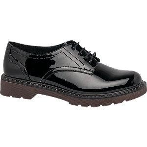 Graceland Ladies Lace-up Shoes Black