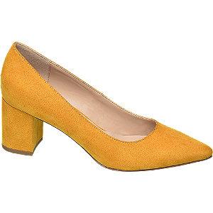 5th Avenue Ladies Mustard Leather Court
