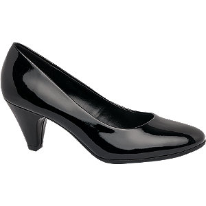 Graceland Ladies' Heeled Shoes in Black