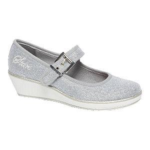 Zilvere ballerina sleehak