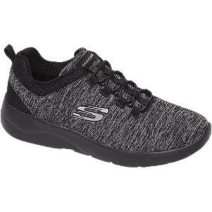 Grijze knitted sneaker memory foam
