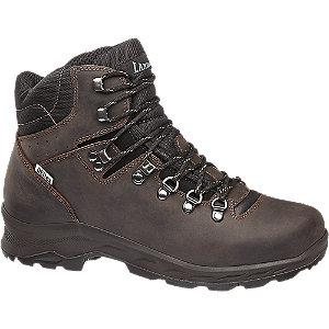 Levně Hnědá kožená outdoorová obuv Landrover s TEX membránou