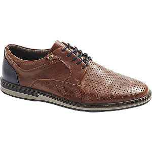 Levně Hnědá komfortní společenská obuv Easy Street