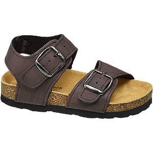 Levně Hnědé sandály Bobbi-Shoes