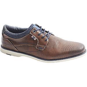 Levně Hnědá společenská obuv Tom Tailor