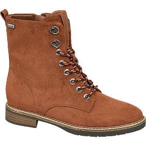 Levně Hnědo-oranžová obuv se zipem Esprit