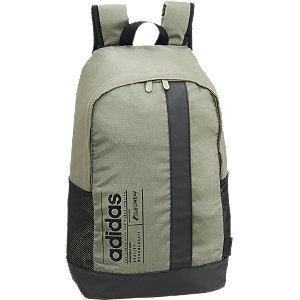 Levně Khaki batoh Adidas BB Bag