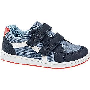 Unisex,Damen,Herren Bobbi-Shoes Klettschuh blau