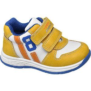 Unisex,Damen,Herren Bobbi-Shoes Klettschuh gelb