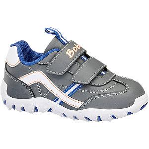 Unisex,Damen,Herren Bobbi-Shoes Klettschuh grau