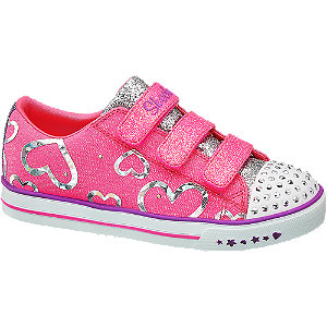 more photos c2c79 3e882 Deichmann | SALE Kinder Skechers Skechers Klettschuh pink ...