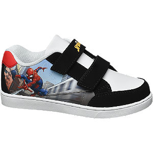 Unisex,Damen,Herren Spiderman Klettschuh schwarz