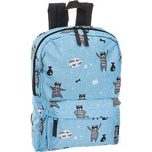 Levně Modrý dětský batoh s mývalem