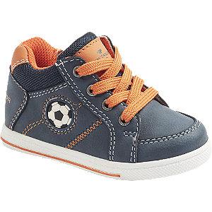 Levně Modrá dětská kotníková obuv se zipem Tom Tailor
