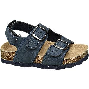 Levně Modré dětské sandály Bobbi-Shoes