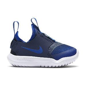Levně Modré dětské slip-on tenisky Nike Flex Runner
