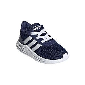Levně Modré dětské slip-on tenisky adidas Lite Racer 2.0 s elastickými tkaničkami