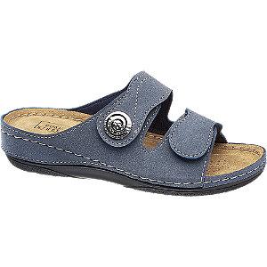 Levně Modré komfortní pantofle Easy Street