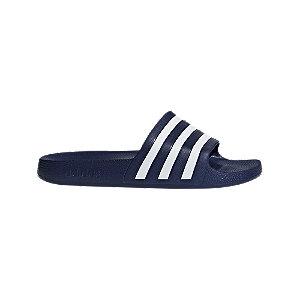 Levně Modré pantofle Adidas Adilette Aqua