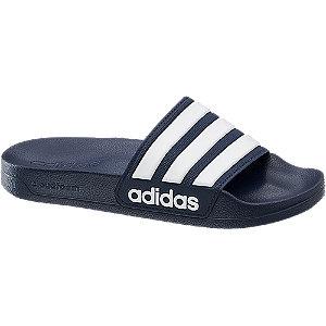 Levně Modré pantofle Adidas Cloud Foam Splash