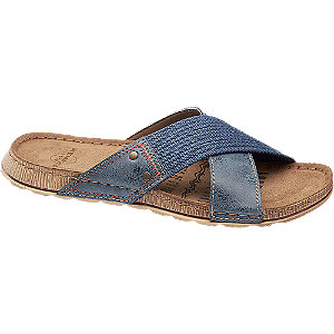 Levně Modré pantofle Memphis One