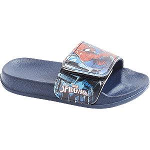 Levně Modré pantofle Spiderman