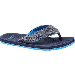 Levně Modré plážové žabky Blue Fin