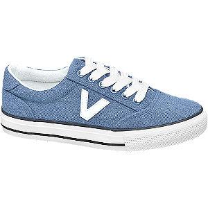 Levně Modré plátěné tenisky Vty