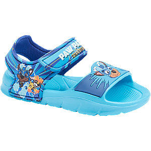Levně Modré sandále na suchý zip Paw Patrol