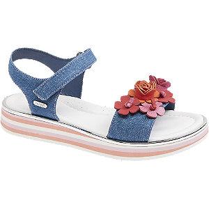 Levně Modré sandály na suchý zip Esprit