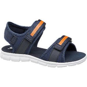 Levně Modré sandály na suchý zip Vty