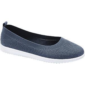 Levně Modrá slip-on obuv Casa mia