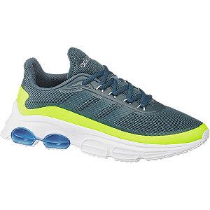 Levně Modré tenisky Adidas Quadcube