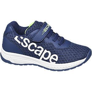 Levně Modré tenisky Bobbi Shoes na suchý zip