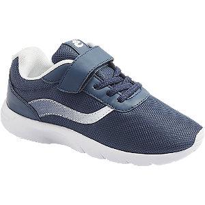 Levně Modré tenisky na suchý zip Bobbi-Shoes