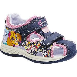 Levně Modro-růžové dětské sandálky Tlapková Patrola