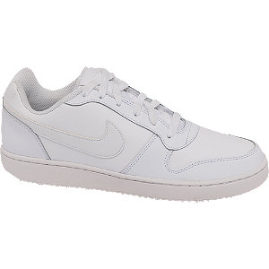 Mens Nike NIKE Ebernon Low White Trainers
