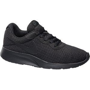 Mens Nike Tanjun Black Lace-up Trainers