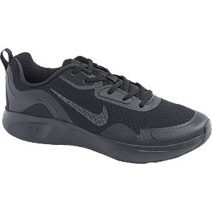 Mens Nike Wearallday Black Lace-up Trainers