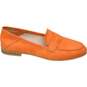 Levně Oranžové mokasíny Graceland
