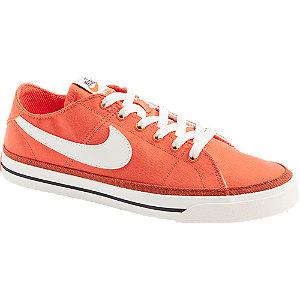 Levně Oranžové plátěné tenisky Nike Court Legacy