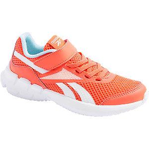 Levně Oranžové tenisky na suchý zip Reebok Ztaur Run